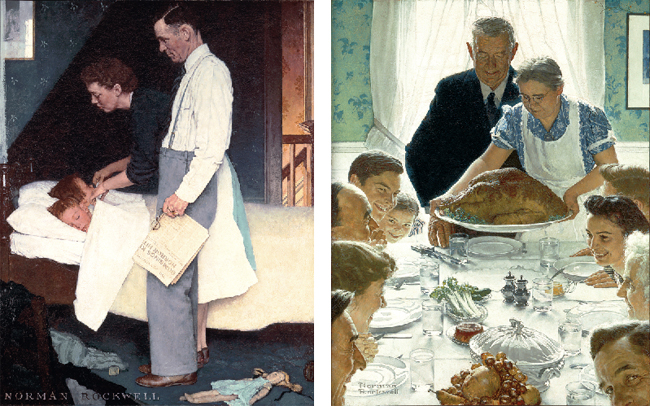 norman rockwell freedom from fear and freedom from want