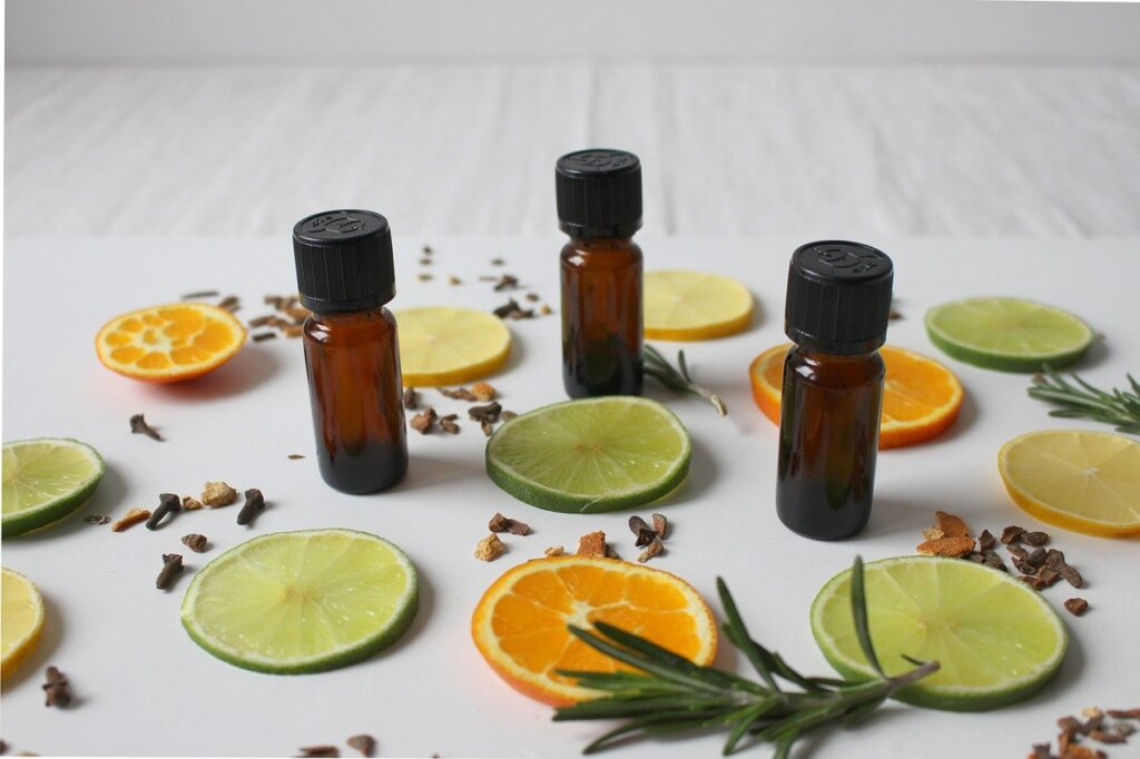 natural cosmetics, fragrance, lemon