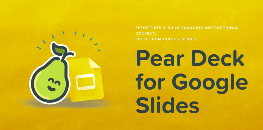 pear deck for google slides