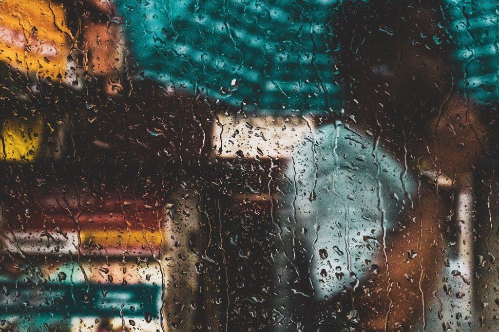 rain, wet, water