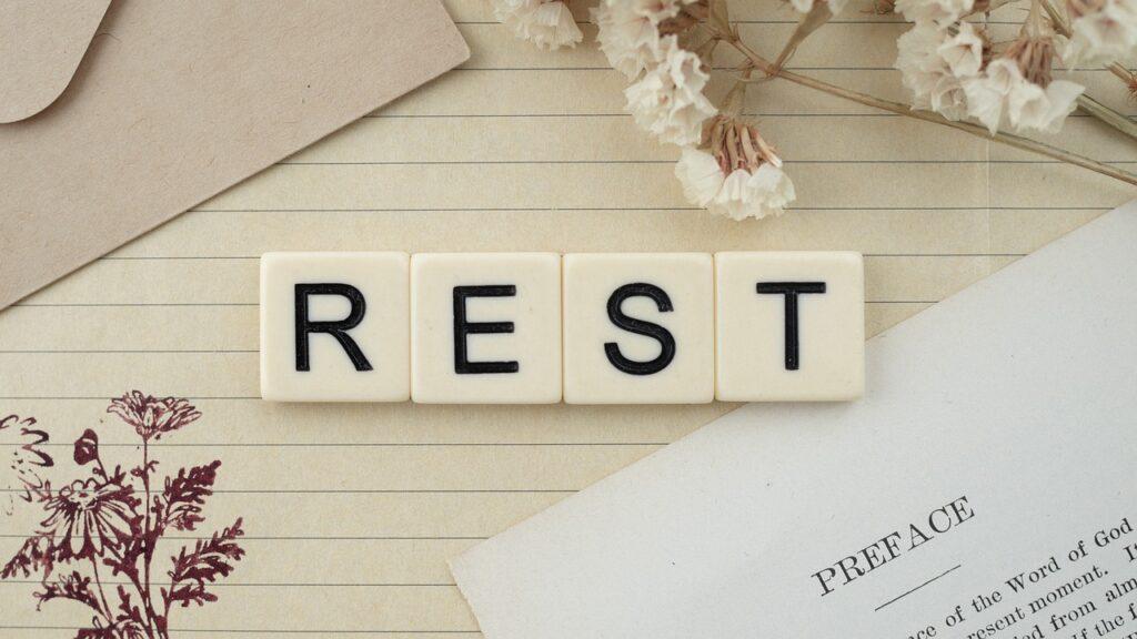 rest, letters, letter blocks
